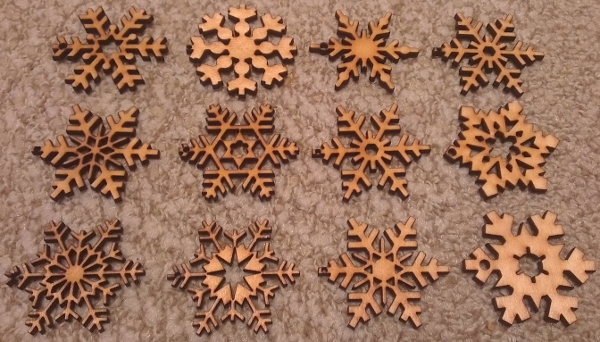 First Cut Snowflakes